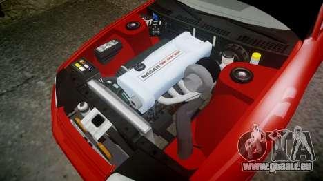 Nissan Skyline R32 GT-R pour GTA 4 est une vue de l'intérieur