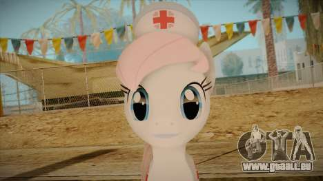 Nurseredheart from My Little Pony für GTA San Andreas dritten Screenshot