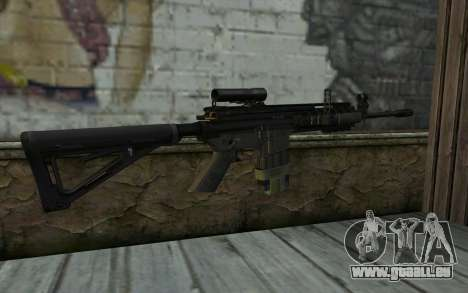 M4A1 from COD Modern Warfare 3 für GTA San Andreas zweiten Screenshot