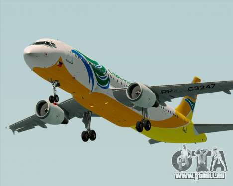 Airbus A320-200 Cebu Pacific Air für GTA San Andreas Motor