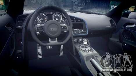 Audi R8 LMX 2015 [EPM] v1.3 für GTA 4 Innenansicht
