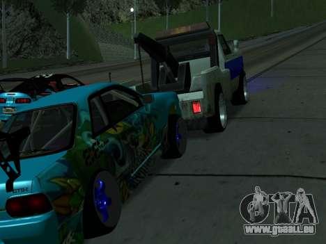 Nissan Skyline R34 EvilEmpire pour GTA San Andreas vue de droite