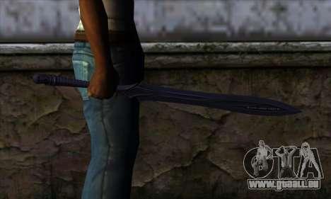 Unnamed Sword für GTA San Andreas dritten Screenshot