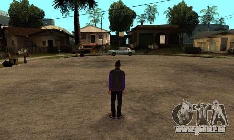 The Ballas Skin Pack für GTA San Andreas her Screenshot