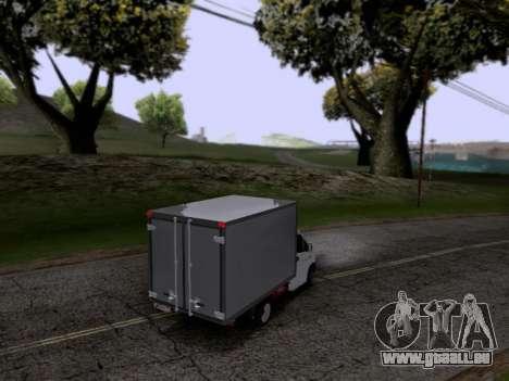 Gazelle Weiter für GTA San Andreas rechten Ansicht