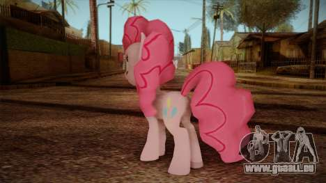Pinkie Pie from My Little Pony für GTA San Andreas zweiten Screenshot