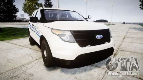 Ford Explorer 2013 [ELS] Liberty County Sheriff pour GTA 4