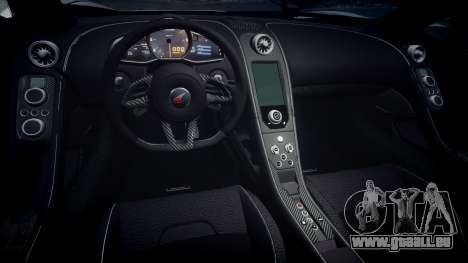McLaren 650S Spider 2014 [EPM] v2.0 pour GTA 4 est une vue de l'intérieur