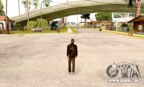 Varios Los Aztecas Gang Skin pack pour GTA San Andreas deuxième écran