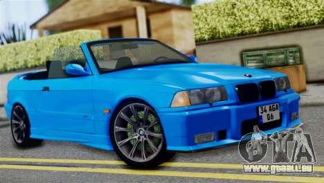 BMW M3 E36 Cabrio pour GTA San Andreas