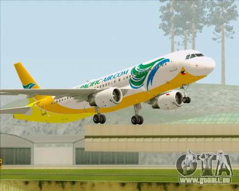 Airbus A320-200 Cebu Pacific Air für GTA San Andreas