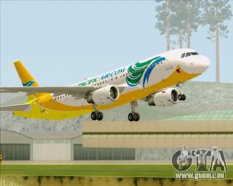 Airbus A320-200 Cebu Pacific Air für GTA San Andreas