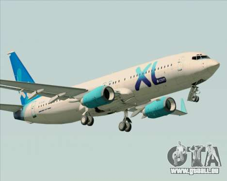 Boeing 737-800 XL Airways für GTA San Andreas Räder