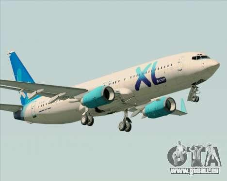 Boeing 737-800 XL Airways für GTA San Andreas Räder