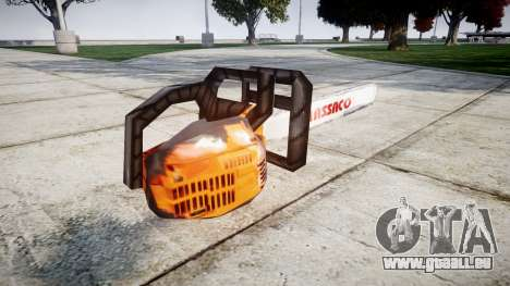 Skript-Kettensäge- für GTA 4 Sekunden Bildschirm