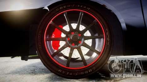 VAZ-2109 alliage pour GTA 4 Vue arrière
