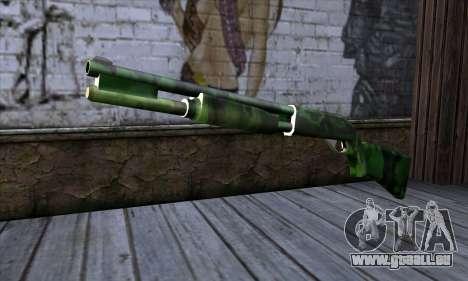 Chromegun v2 Militärischen färben für GTA San Andreas