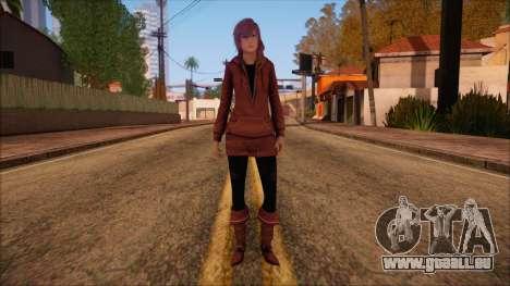Modern Woman Skin 10 v2 pour GTA San Andreas
