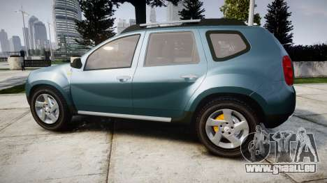 Dacia Duster 2013 für GTA 4 linke Ansicht