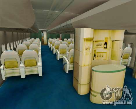 Airbus A380-800 Air China für GTA San Andreas