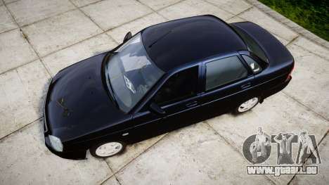 ВАЗ-2170 Lada Priora stock pour GTA 4 est un droit