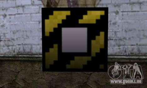 Bloc (Minecraft) v4 pour GTA San Andreas