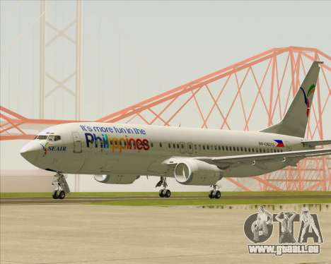 Boeing 737-800 South East Asian Airlines (SEAIR) pour GTA San Andreas laissé vue