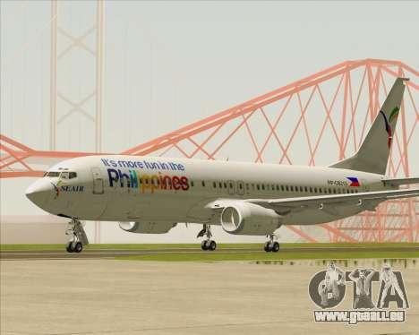 Boeing 737-800 South East Asian Airlines (SEAIR) pour GTA San Andreas laissé vue