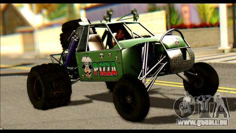 Buggy Fireball from Fireburst für GTA San Andreas