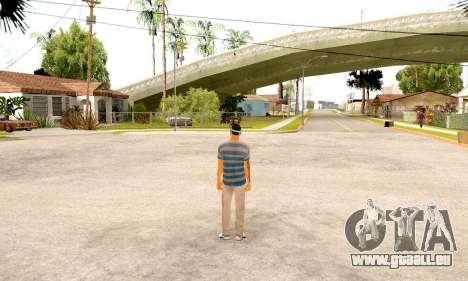 Varios Los Aztecas Gang Skin pack für GTA San Andreas her Screenshot