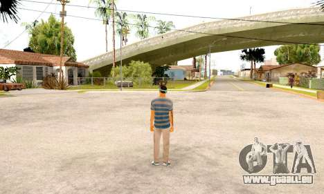 Varios Los Aztecas Gang Skin pack pour GTA San Andreas quatrième écran