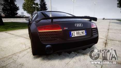 Audi R8 LMX 2015 [EPM] v1.3 für GTA 4 hinten links Ansicht
