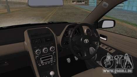 Toyota Altezza (RS200) 2004 (HQLM) pour GTA San Andreas sur la vue arrière gauche