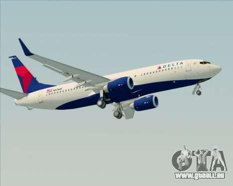Boeing 737-800 Delta Airlines pour GTA San Andreas moteur