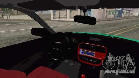 Honda Civic HB pour GTA San Andreas sur la vue arrière gauche