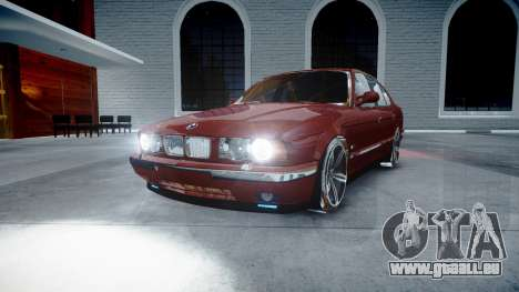 BMW M5 E34 1995 Stock pour GTA 4