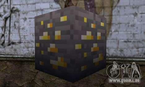 Bloc (Minecraft) v8 pour GTA San Andreas deuxième écran