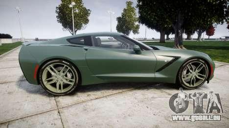 Chevrolet Corvette C7 Stingray 2014 v2.0 TirePi2 pour GTA 4 est une gauche