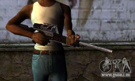 Calico M951S from Warface v2 pour GTA San Andreas troisième écran
