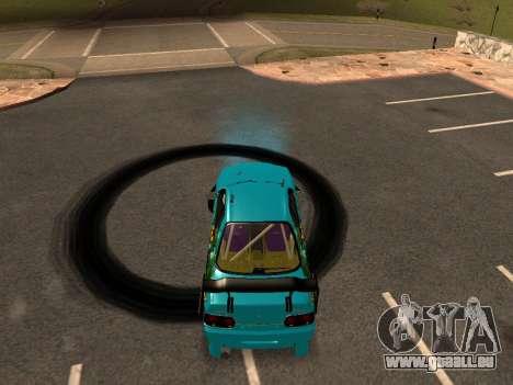 Nissan Skyline R34 EvilEmpire pour GTA San Andreas laissé vue