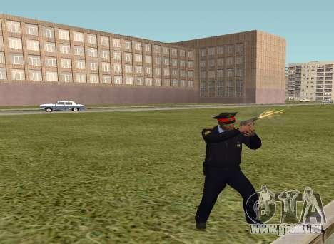 Le sergent de police pour GTA San Andreas deuxième écran