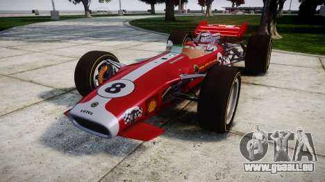 Lotus 49 1967 red für GTA 4
