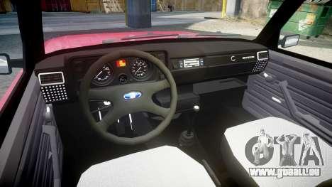 VAZ-2104 pour GTA 4 Vue arrière