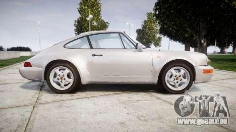 Porsche 911 (964) Coupe pour GTA 4 est une gauche
