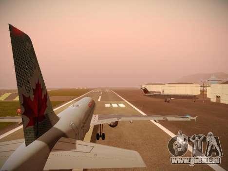 Airbus A320-214 Air Canada pour GTA San Andreas moteur