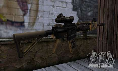 AR15 bushmaster pour GTA San Andreas deuxième écran