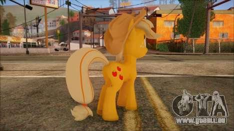 Applejack from My Little Pony für GTA San Andreas zweiten Screenshot