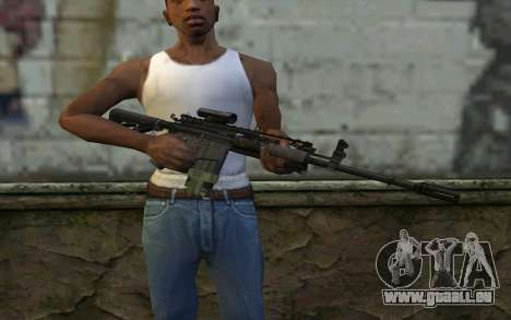 M4A1 from COD Modern Warfare 3 für GTA San Andreas dritten Screenshot