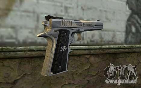 Colt 1911 Silverballer pour GTA San Andreas deuxième écran