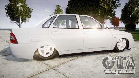 ВАЗ-Lada 2170 Priora Dubaï pour GTA 4 est une gauche